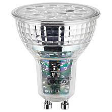 IKEA LEDARE (703.632.38) Светодиодная лампа GU10 600 люмен, теплый