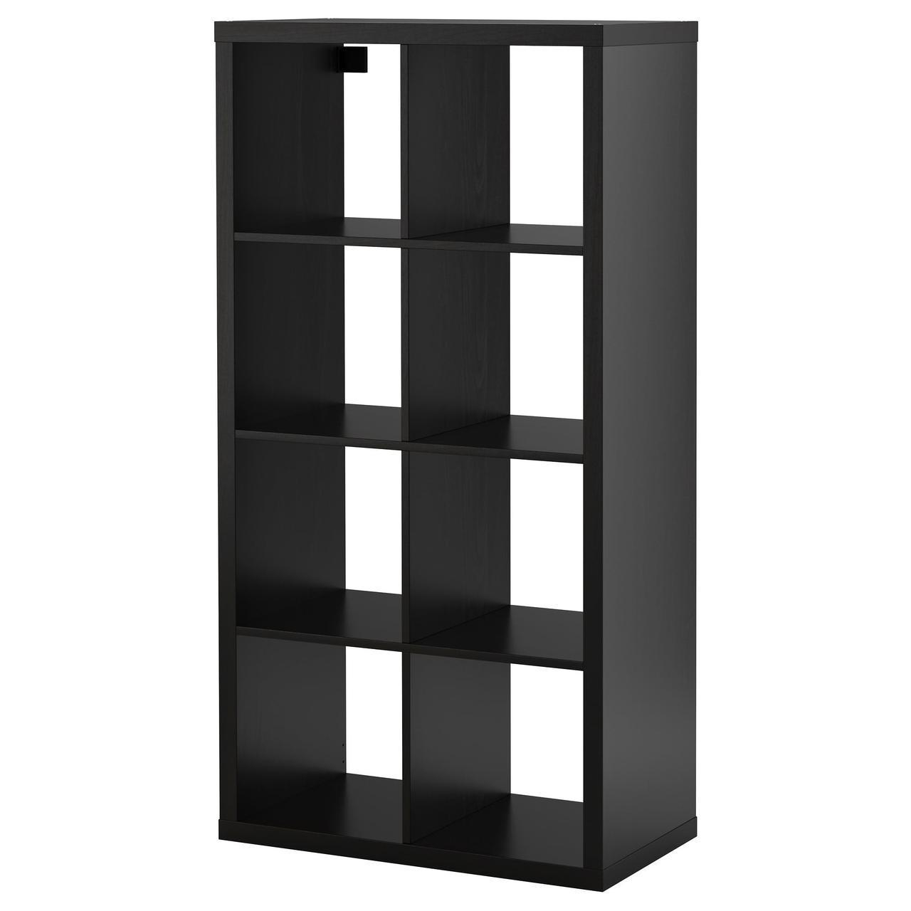 IKEA KALLAX (202.758.85) Шкаф, черный