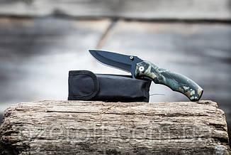 Складной нож Сolumbia 20 см. Карманный выкидной нож с чехлом