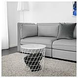 IKEA KVISTBRO (303.494.52) Журнальный столик, с местом для хранения, бирюзовый, фото 2