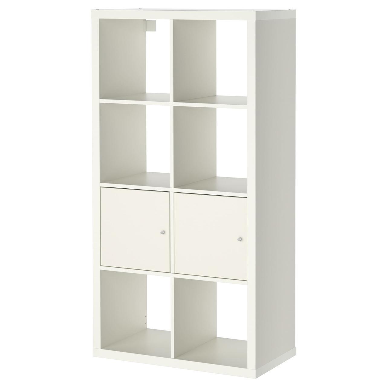 IKEA KALLAX (990.171.86) Шкаф с дверями