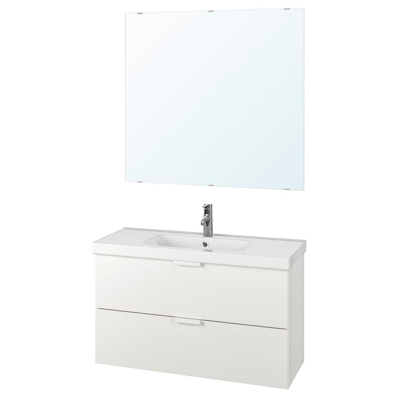 IKEA Комплект мебели для ванной GODMORGON / ODENSVIK (393.254.80)