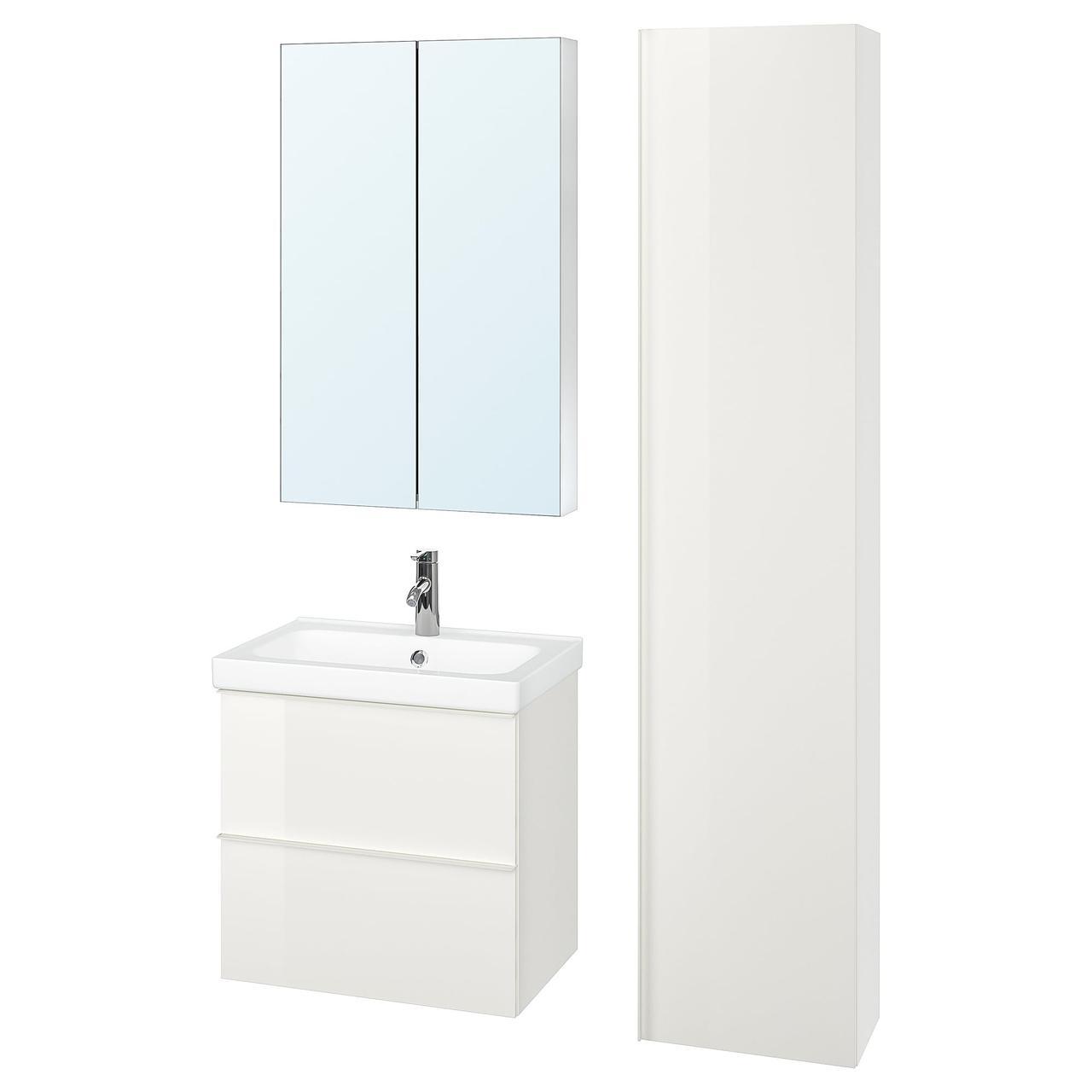 IKEA Комплект мебели для ванной GODMORGON / ODENSVIK ( 093.045.06)