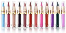 Рідка губна помада + помада олівець 2 в 1 MAC Long Lasting Lip Gloss (Палітра 12 шт)