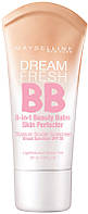 Тональний крем Maybelline Dream Fresh BB (ПАНЕЛЯМИ) (A №1,3,5) (B №2,4,6) | 207