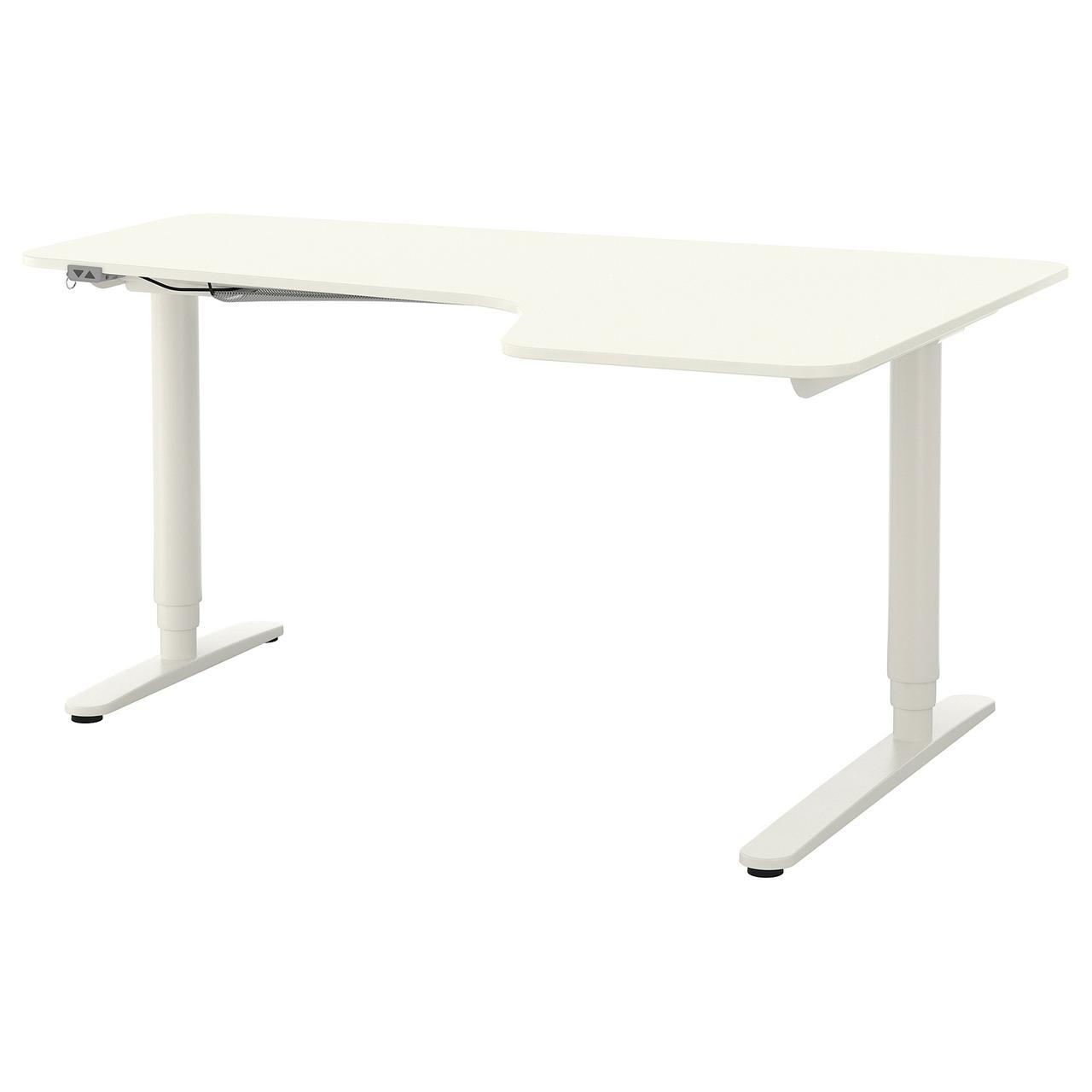 IKEA BEKANT (290.225.01) Стол угловой, белый