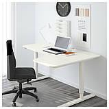 IKEA BEKANT (290.225.01) Стол угловой, белый, фото 2