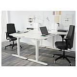 IKEA BEKANT (290.225.01) Стол угловой, белый, фото 6