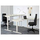 IKEA BEKANT (290.225.01) Стол угловой, белый, фото 7