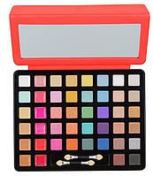 Палитра для макияжа iPad (тени + жидкие помады + консиллеры) кораллового цвета   A2 BS 104