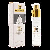 Женский мини парфюм Pheromon Trussardi Donna 45мл, духи, стойкие, свежие, сладкие, феромон