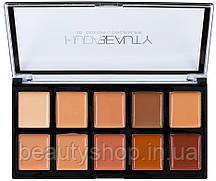 Набір консилерів Huda Beauty 10 відтінків Панелями (№1) і (№2) | H6670 (№1)