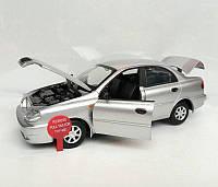 Машинка Deo Lanos (Део Ланос) 1:22 металл свет, звук, Автопром, фото 1