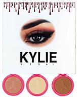 Хайлайтер Kylie STORY (ПАЛІТРАМИ А( №1,3,7 ) В ( № 2,4,6 )   694 Упав. В (№2,4,8)