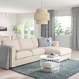 VIMLE ВІМЛЕ 3-місний диван-ліжко - з кушеткою/ГУННАРЕД бежевий - IKEA, фото 2