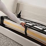 VIMLE ВІМЛЕ 3-місний диван-ліжко - з кушеткою/ГУННАРЕД бежевий - IKEA, фото 5