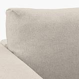 VIMLE ВІМЛЕ 3-місний диван-ліжко - з кушеткою/ГУННАРЕД бежевий - IKEA, фото 7