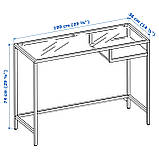 IKEA Стол для ноутбука VITTSJÖ ( 802.213.52), фото 7