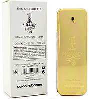 Тестер Мужского парфюма 1 Million Paco Rabanne 100мл, парфюмерия, духи, Пако Рабанн, стойкие, свежие