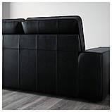 IKEA Диван кожаный KIVIK (601.985.88), фото 7