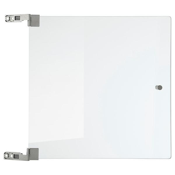 EKET ЕКЕТ Скляні дверцята - прозоре скло - IKEA