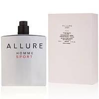 Тестер мужской туалетной воды Chanel Allure Homme Sport 100 мл, парфюм, парфюмерия, духи, Шанель