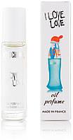 Жіночі масляні духи Moschino I Love Love кулькові - 10 мл, стійкі, свіжі, солодкі, парфум