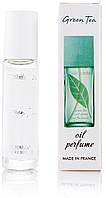 Масляный женский шариковый парфюм Elizabeth Arden Green Tea 10 мл, стойкие, свежие, сладкие, духи
