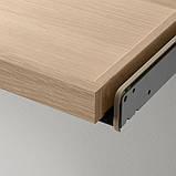 KOMPLEMENT КОМПЛЕМЕНТ Висувна полиця - під білений дуб - IKEA, фото 4