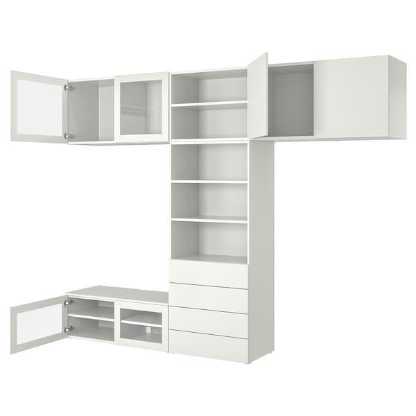 PLATSA ПЛАТСА Стелаж для касет/дисків, комбінація - IKEA