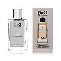 Стойкий женский аромат парфюм Dolce & Gabbana L`Imperatrice 3 60 мл, духи, туалетная вода, стойкие