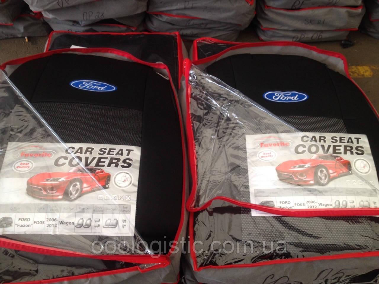 Авточехлы  на Ford Fusion 2006-2012 wagon,Форд Фьюжн