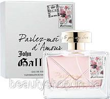 Женская туалетная вода John Galliano Parlez - Moi d Amour 80 мл, парфюм, духи, стойкие, свежие