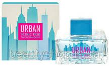 Женская туалетная вода Antonio Banderas Urban Seduction Blue for Women 100 мл, духи, парфюм, стойкие