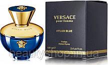 Жіноча парфумована вода Versace Dylan Blue Pour Femme 100 мл, Версаче, парфуми, парфуми, стійкі