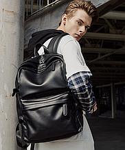Крутой рюкзак с usb. Кожаная сумка. Мужской рюкзак кожа. Портфель для ноутбука. С11