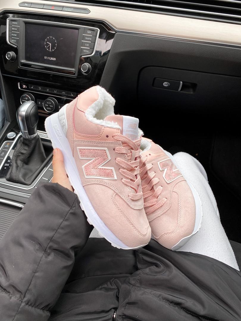 Жіночі кросівки New Balance 574 Pink