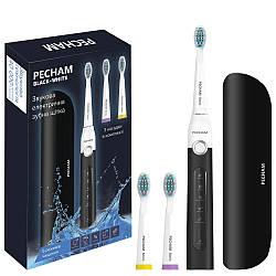Електрична зубна щітка PECHAM Black-White Travel