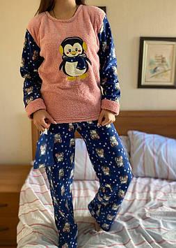 Пижама женская розовая код П206