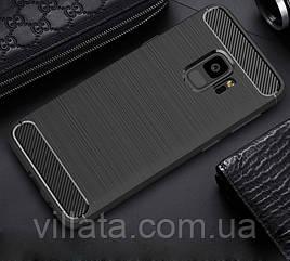 TPU чехол Slim Series для Samsung A530 Galaxy A8 (2018) Черный