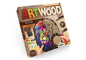 Набір для випилювання лобзиком Danko Toys Art Wood настінні годинники LBZ-01-01/05