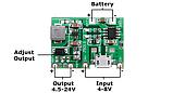 Модуль зарядки TP4056 с повышающим преобразователем J5019, фото 4