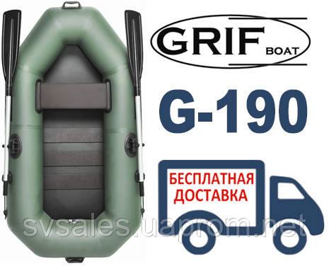 Grif G-190 лодка 1-местная