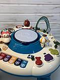 """Детский развивающий музыкальный игровой столик  """"Space games table"""" 1102, фото 2"""