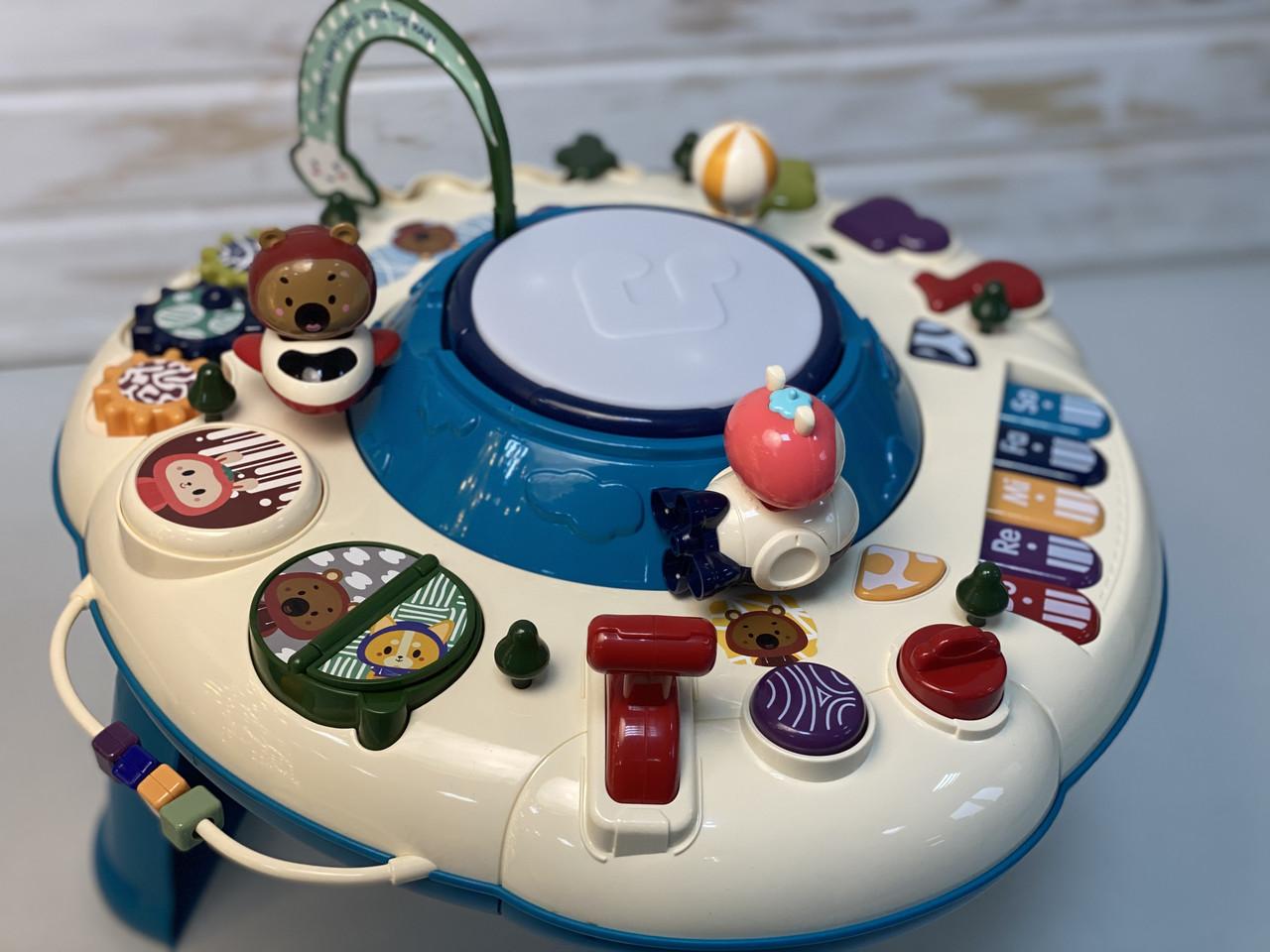 """Детский развивающий музыкальный игровой столик  """"Space games table"""" 1102"""
