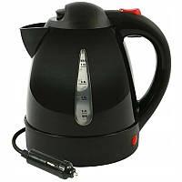 Чайник 24V 1л  150W  / пластик/дисковый (вкл-выкл/авто выкл/индикатор питания/защ.пер Black