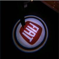 Лазерный проэктор с логотипом FIAT  (2шт)