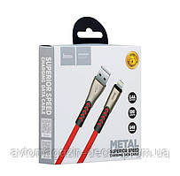 "Кабель  USB  для  Iphone-5 /6 "" HOCO U48 Superior Speed 1,2 м Black"