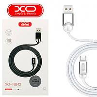 Кабель  USB /Micro USB  XO NB42  Silver (Box)