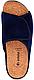 Женские домашние шлёпанцы Inblu DH3J ортопедические полномерные .синий велюр, фото 4
